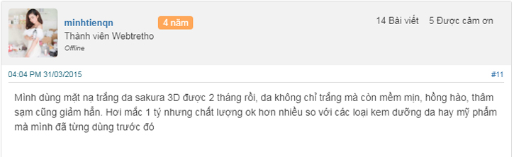 mặt nạ hada labo 3d review