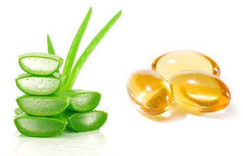mặt nạ lô hội vitamin e