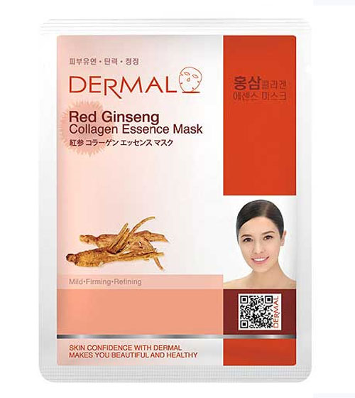 mặt nạ dermal red ginseng