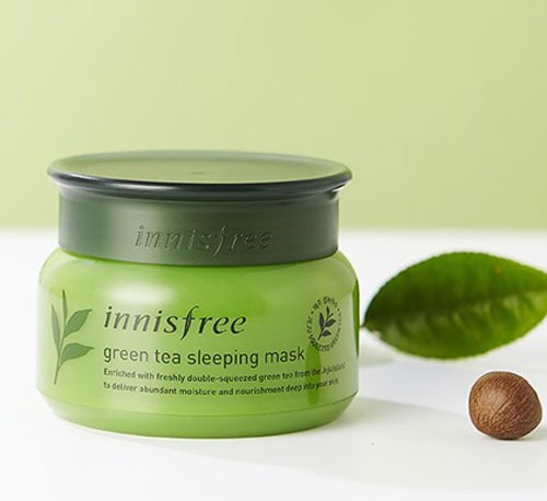 mặt nạ ngủ innisfree review
