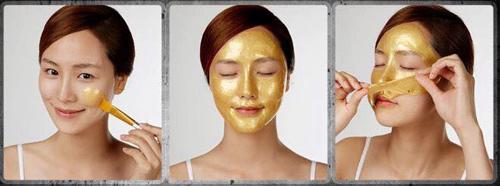 cách sử dụng mặt nạ vàng 24k gold mask