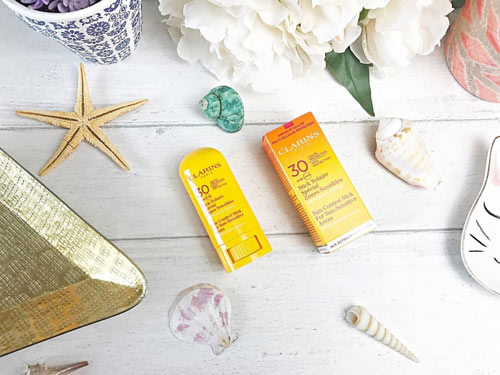 kem chong nang Clarins Control Stick For Sun - Sensitive