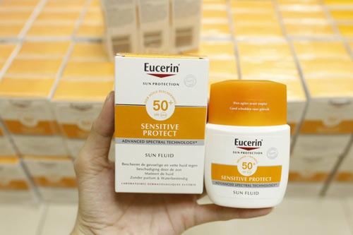 kem chống nắng eucerin sensitive protect