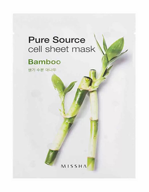 mặt nạ missha pure source cell sheet mask tre