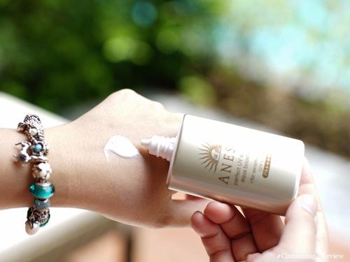 review kem chống nắng anessa cho da khô